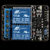 Wholesale 5V Channel Relay Module Shield for Arduino ARM PIC AVR DSP Electronic