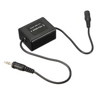 Wholesale 3 mm Aux Audio Noise Filter Ground Loop Isolator Eliminate Car Electrical Noise