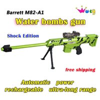 Wholesale Paintball Gun Pistol Soft Bullet Gun Plastic Toys CS Game Shooting Water Crystal Gun Nerf Air Soft Gun Airgun Sniper Barrett