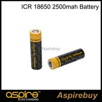rechargeable battery li-ion - 100 Original Aspire ICR V Li ion High Discharge A A mAh Battery Li ion Rechargeable Battery for High Drain Devices mah