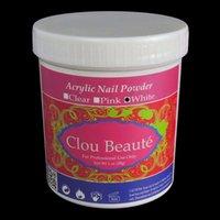 Wholesale Nail Art Soak Off Polymer x g Jumbo Size White Pink Clear Professional Acrylic Powder Manicure Set NP0004