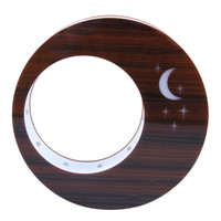 Wholesale 2016 Newest Acrylic Round Moon Stars Magnetic Floating Picture Photo Frame Home Gift