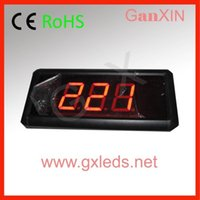 alarm clock system - hot product queuing system digits indoor led counter