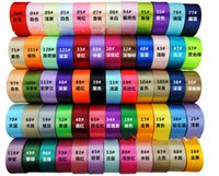 Wholesale 25 yards quot single face satin ribbon mm ribbons tape mix colors