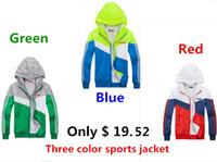 zipper hooded jacket - spring Autumn new men s sports jacket hooded jacket Men Fashion Thin Windbreaker Zipper Coats