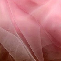 curtain voile - New m inch Width Meter Light Pink Soft Tulle Organza Voile Fabric Diy Wedding Bridal Dress Veil Curtain Ball Gown Party