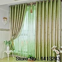 Wholesale Good Quality Fashion Modern Drape Curtains Voile Curtain For Windows Each Size150 cm total4pcs Blackout