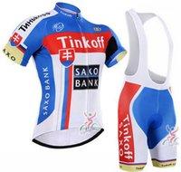 bank outfit - Ropa Ciclismo Summer Cycling Jerseys Saxo Bank Tinkoff Short Sleeves Cycling Clothing Bike Fitness Bicicletas Bib Sets Shirts Outfits