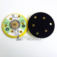 Wholesale 5 quot M8 Air Sander Back up Pad for Velcro Sanding Disc with holes