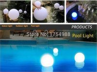 Wholesale EMS cm IP68 LED Floating Ball LED Magic Ball led illuminated swimming pool ball light