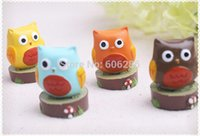 Wholesale New Whooo s the Cutest quot Baby Owl Place Card Photo Holder for Baby Shower Favors Wedding Party Souvenirs