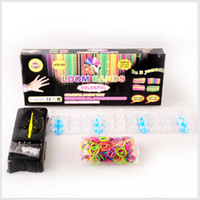 rainbow loom rubber band - Rainbow Loom Kit rubber bands Kit DIY looming kits Silicone Rubber Wristband healthy material