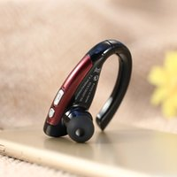 apple wireless connection - Ear hanging Stereo Bluetooth Headset Bluetooth A2DP APT X Music Headphone Multi connection Hands free Earphone for iPhone S DHL V1756