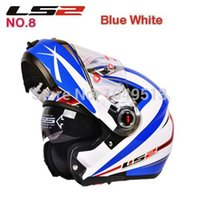 airbag band - new cheap capacete motorcycle LS2 FF370 double lens carbon fiber motorcycle helmet band airbag edition