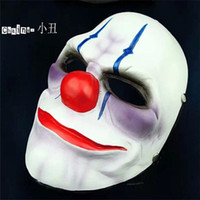 Wholesale Online PAYDAY Mask Heist Chain Costume Props Collection Cosplay Mask