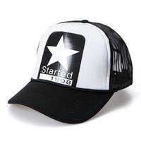baseball starting - started Snapback mesh baseball summer sports cap trucker net cap men Visor Sunbonnet Loves hat for women five pointed star B208