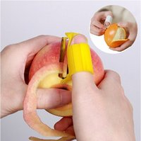 Wholesale Orange is the fruit can be opened adjustable multifunction skilled fruit peeler potato orange apple garlic