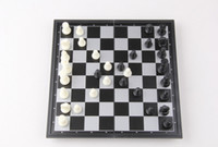 Wholesale High quality Folding Champions Chess Set in Travel Magnetic Chess and Checkers Set quot D714J