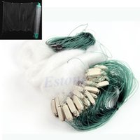 Explosion Hooks gill net - m Long Clear White Green Monofilament Fishing Fish Gill Net with Float
