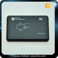 Wholesale RFID khz ID EM4100 card Reader writer cloner copier programmer copy clone with blank writeable keytag t5577 or em4305