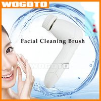 Wholesale 100 HQ Face Cleaning Brush Cleaner Facial Machines Facial Equipment Facial Cleaning Brush VS nuface PMD NO NO HAIR Removal