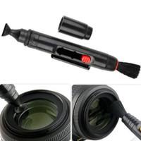 Wholesale 1 Piece Black Lens Clean Pen in Kit Dust Cleaner For DSLR VCR Camera