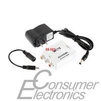 Wholesale 1set Wholesales HD Video Converter mini HDMI to AV CVBS L R