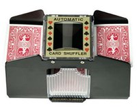 casino shuffler - Automatic Playing Cards Shuffler Poker Casino One Two Deck Card Shuffle Sorter