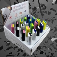corporate gift - USB charging lighter gifts to share corporate gifts Large quantity can be printed logo