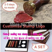 Wholesale Customize wedding logo league logo DIY only seal stamps Sealing wax stamp wax seal stamp to custom design