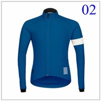 Wholesale 2015 top sales Rapha Cycling tops winter fleece red blue brown cycling Jersey long sleeves cycling jersey tops XS XL size