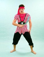 adult men pirate costume - sexy RB99001 pirate costume for men Adult Men s Halloween Costumes