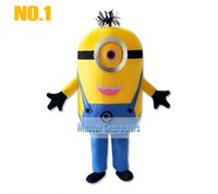 minion costume - On sale styles Despicable me minion mascot costume for adults despicable me mascot costume