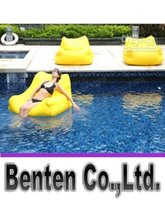 Wholesale More color cost extra large floating beanbag cover summer swimming beanbag LLFA4344F
