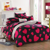 Cheap 3 4 PCS cartoon bedding 100% cotton fabric girls kawaii bedding bed linen include Quilt duvet cover bed sheet PillowCase