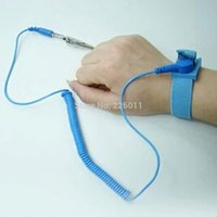 Wholesale 6 Anti Static ESD Wrist Strap Discharge Band Grounding Prevent Static Shock