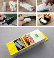 Cheap Sushi Long Roll Rice Maker Mould Roller Bento Mold DIY Kitchen Tool Sushi Molds Sushi Long Roll Rice Maker EMS Free LJJD3450 120pcs