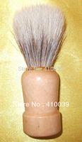 Wholesale Shave Shaving Brush beard mustache brush with pig boar hair bristle amp nature wood handle