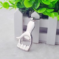 Wholesale Cute Thumb Bottle Opener Keychain PC Stainless Steel Creative Keychain Bottle Opener Sell Like Hot Cakes