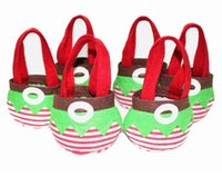 christmas elf - Fashion christmas gifts for children cute christmas decorations Cute Elf Spirit Xmas Candy Bags Covers Indoor Christmas Party Supplies