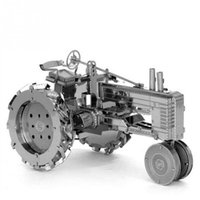Wholesale DIY Farm Tractor Shape D dimensional Intelligent Metal Puzzle Jigsaw Toy Artificial Model