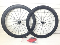 Wholesale hug in stock Matte FFWD F6R mm c Full carbon road bike bicycle wheels mm width clincher with Ti_QR