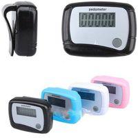 Wholesale Step Counter Run Walking Pedometer Distance Calorie L0192592
