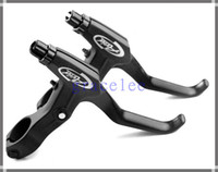 Wholesale A Pair Alloy Mountain BMX Road Cyclocross Bicycle Bike Handle Hand V Brake Bar Lever
