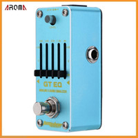 aeg electric - AROMA AEG GT EQ Analog Band Equalizer Electric Guitar Effect Pedal Mini Single Effect with True Bypass