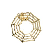 web design - Fashion Design Spider Web Style Body Piercing Ring Dangling Nipple Ring Body Jewelry W2107