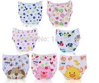 Wholesale New Baby Diaper Washable Reusable nappies changing cotton training pant happy fraldas cloth diaper sassy