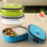 Cheap Single Layer Stainless Steel Student Lunch Box 900ML Food Container Cute Hand Pot Japanese Plastic Bento Lunch Boxes For Kids