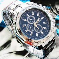 Casual brand name watches - Branded Name Winner Mens Classic Stainless Steel Automatic Self Wind Skeleton Mechanical Watch Fashion Cross Watch Wristwatch