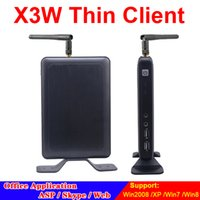 Wholesale Wireless Thin Client X3W Cloud Point Network Terminal with A9 Dual Core Ghz G RAM G Flash RDP Protocol